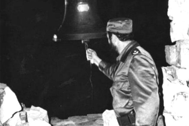 Fidel en La Demajagua