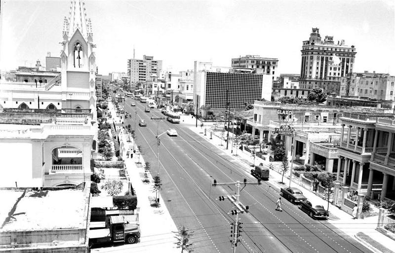 Calle 23 en 1956