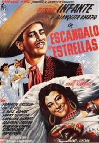 Cartel del filme Escándalo de Estrellas