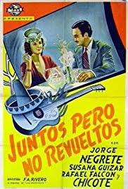 Cartel del filme Juntos pero no revueltos