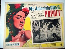 Cartel del filme La niña popoff