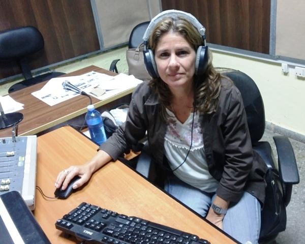 Tamara Sotolongo, directora de radio