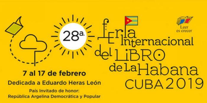 Cartel de la Feria del Libro 2019