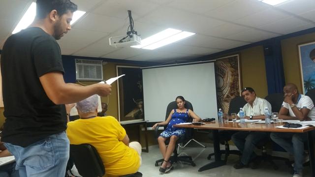 Trabajadores de la Agencia de Representaciones Artísticas Clave Cubana discutieron el Proyecto de Constitución