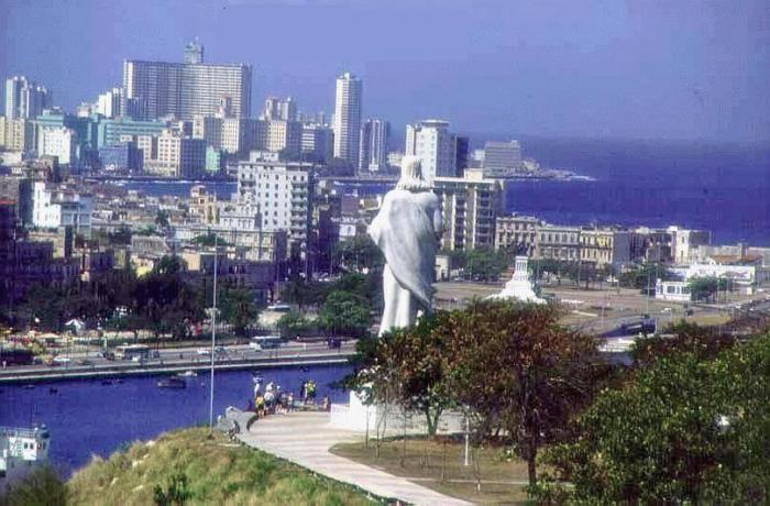 La Habana vista desde El Cristo