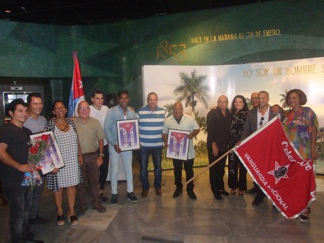Músicos cubanos Vanguardias Nacionales