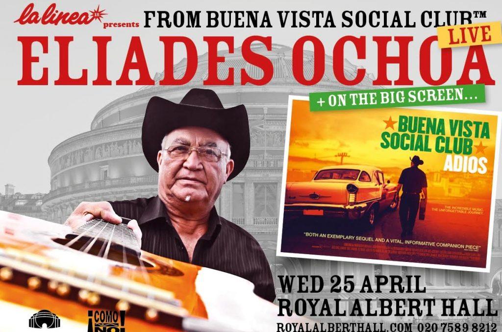 Actuará Eliades Ochoa en el Royal Albert Hall